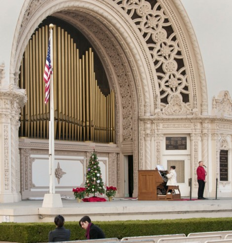 After Civic Organist Dr. Carol Williams has played the National